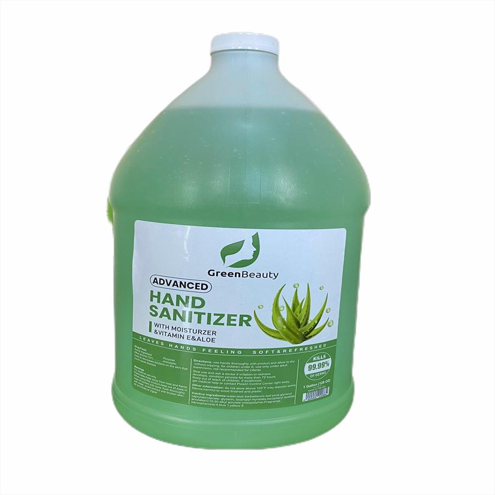 Hand Sanitizer with Vitamin E and Aloe - 1 GALLON