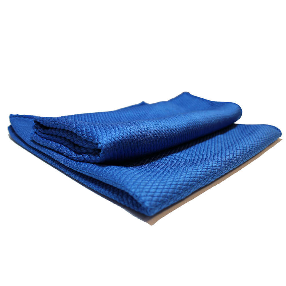 "Diamond Weave 16""x16"" Glass Microfiber Towel"