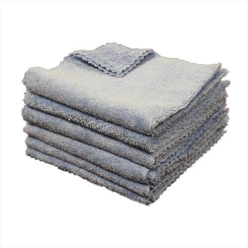 "50 Pack 16""x16"" Edgeless Microfiber Towel"