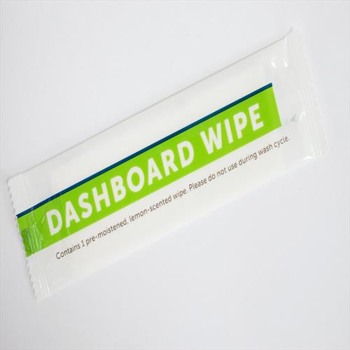 Dashboard Wipes Lemon Scented- 1000 count