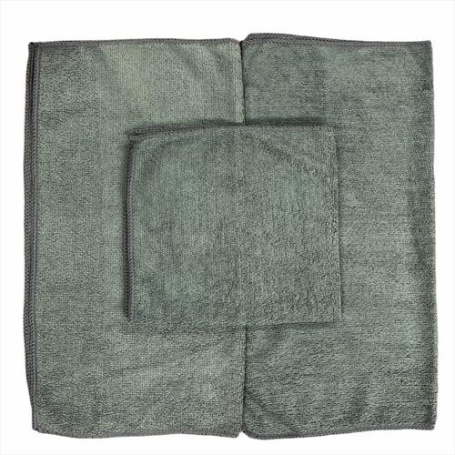 EXPRESS WASH GRAY MICROFIBER BULK OF RAGS- 300 TOWELS